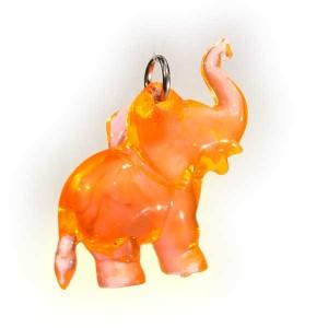 Zawieszka słonik pomarańczowy